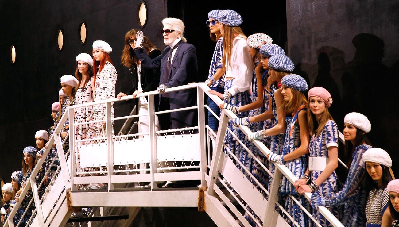 Karl Lagerfeld a jeho múzy