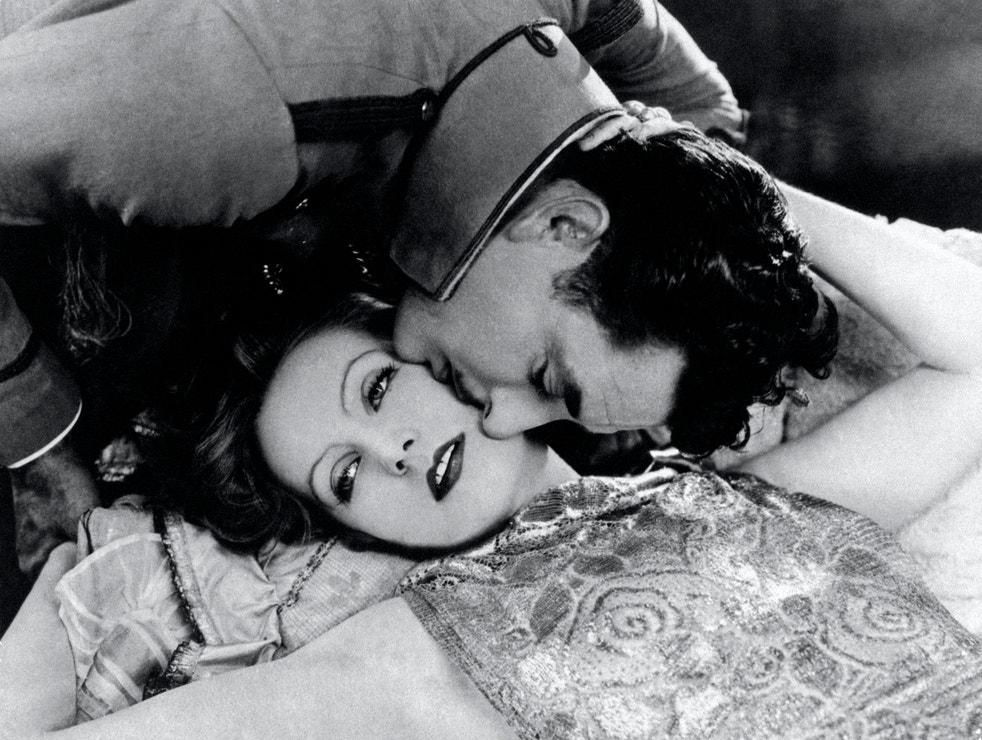 Greta Garbo ve filmu Polibek