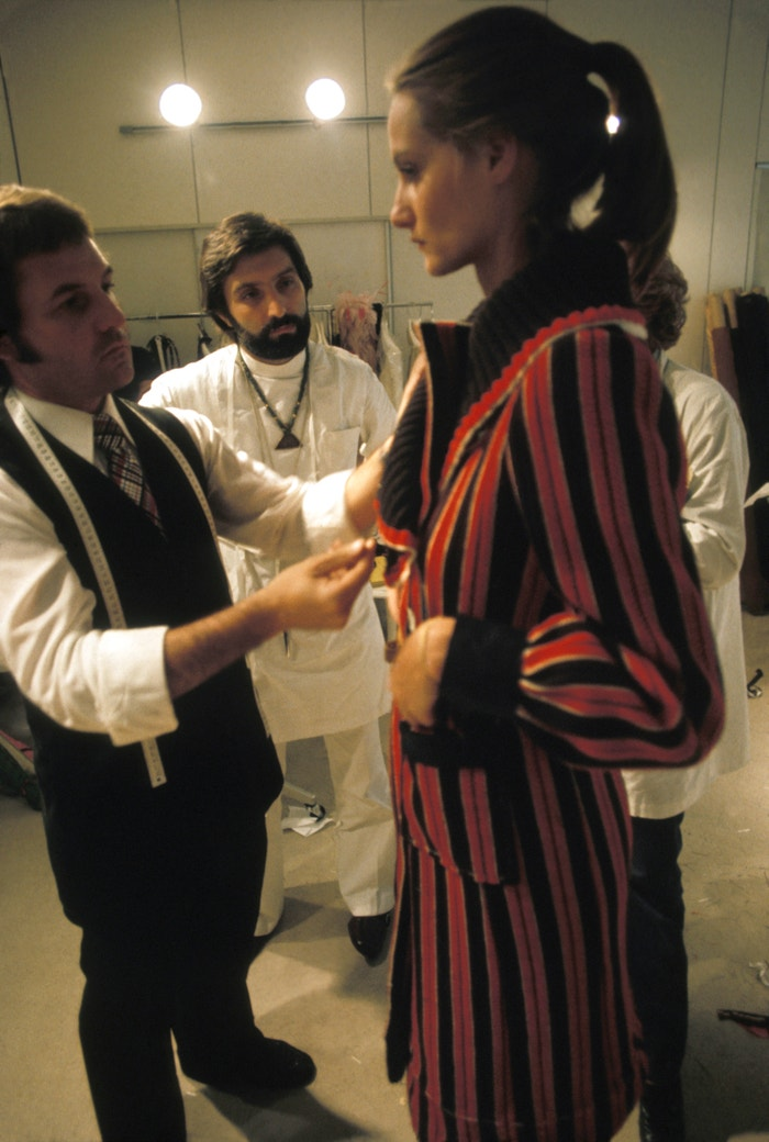 Emanuel Ungaro, 1974, Paříž, Francie  Autor: Michel LAURENT/Gamma-Rapho via Getty Images