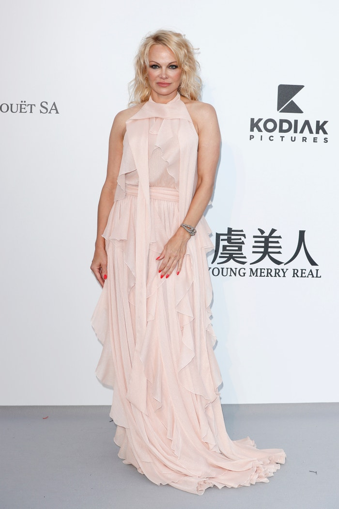 Pamela Anderson na amfAR gala v Cannes Autor: Getty Images