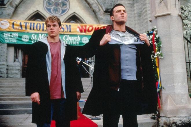 Ben Affeck a Matt Damon ve filmu Dogma, 1999