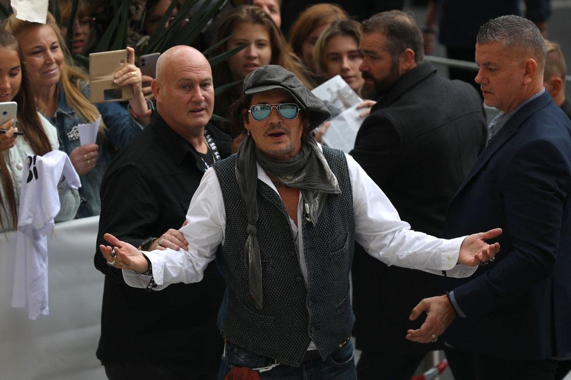 Johnny Depp na 55. ročníku Mezinárodního filmového festivalu Karlovy Vary