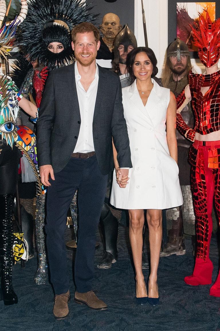 Princ Harry, vévoda ze Sussexu, a Meghan, vévodkyně ze Sussexu, na návštěvě Nového Zélandu, říjen 2018