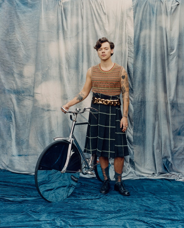 Harry Styles v americké Vogue