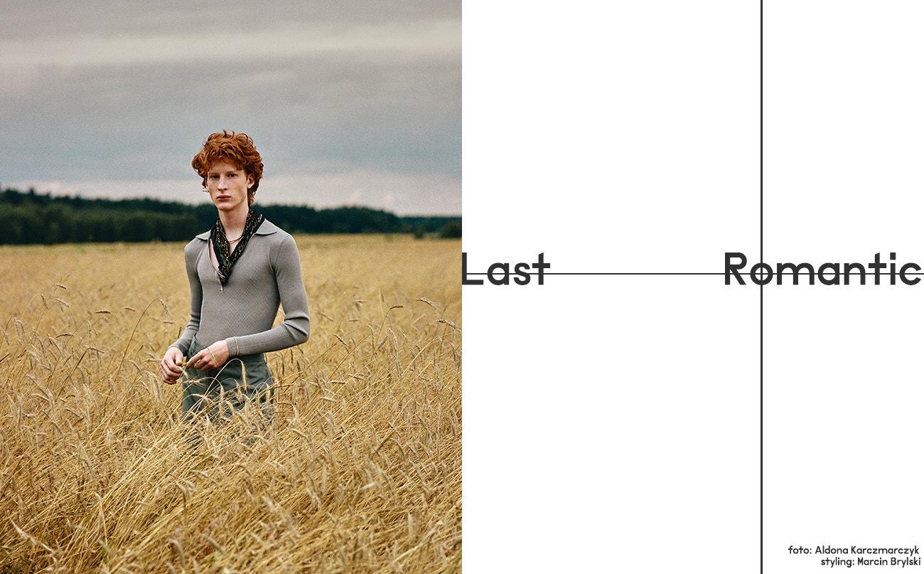 Košile, Weekday; kalhoty, J.Lindeberg; řetěz, Versace; šála, Ralph Lauren.