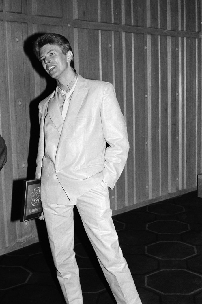 David Bowie, Daily Mirror, BBC, 1980 Autor: Monks & English/Daily Mirror/Mirrorpix/Getty Images