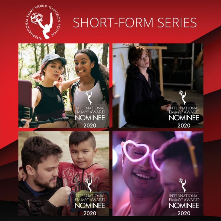 Nominovaní v kategorii v kategorii krátkých seriálů