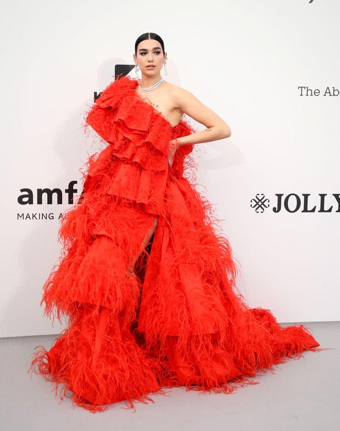 Dua Lipa v šatech Valentino Autor: Getty Images