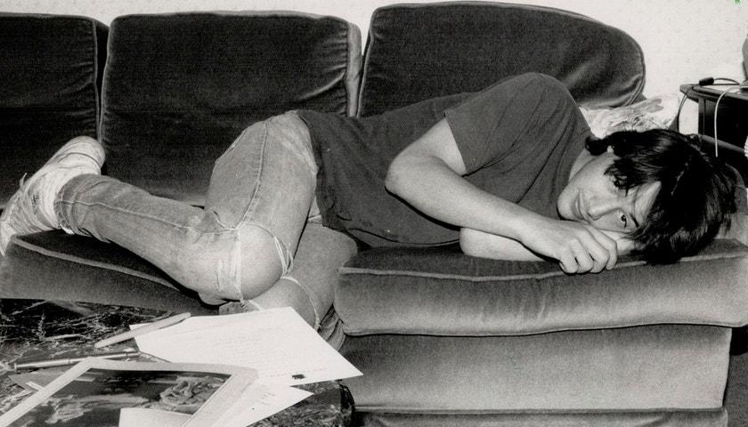 Keanu Reeves na vintage fotografiích jako první hipster