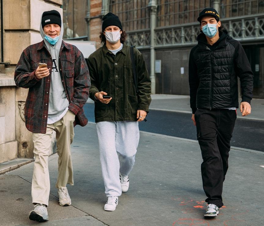 Paris Men's Street Style Fall-Winter 2021