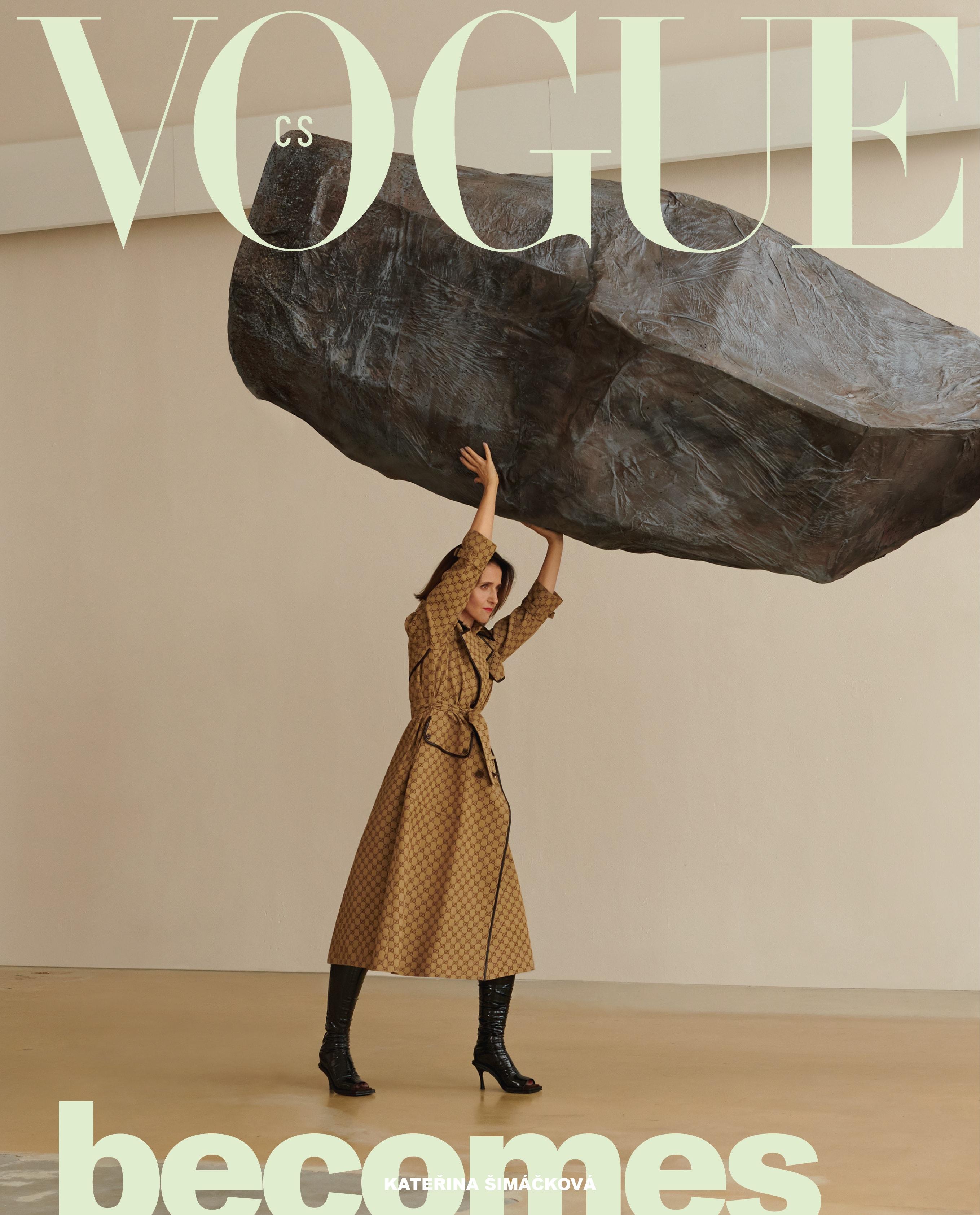 Kateřina Šimáčková, Vogue CS, březen 2021