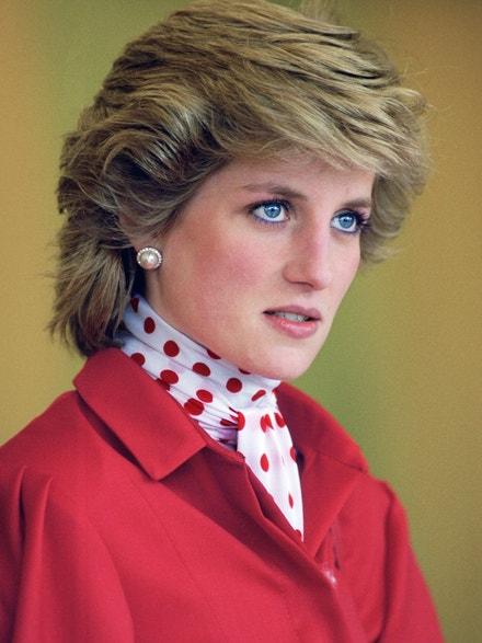 Princezna Diana na zemědělském veletrhu, květen 1986