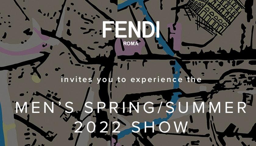 Fendi Men's spring-summer 2022