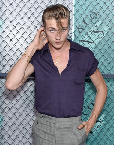 Lucky Blue Smith a jeho signature style