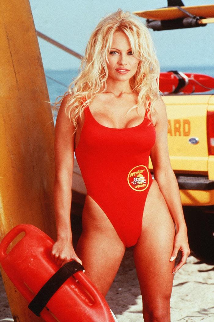 Pamela Anderson, Pobřežní hlídka (1989 až 2001)