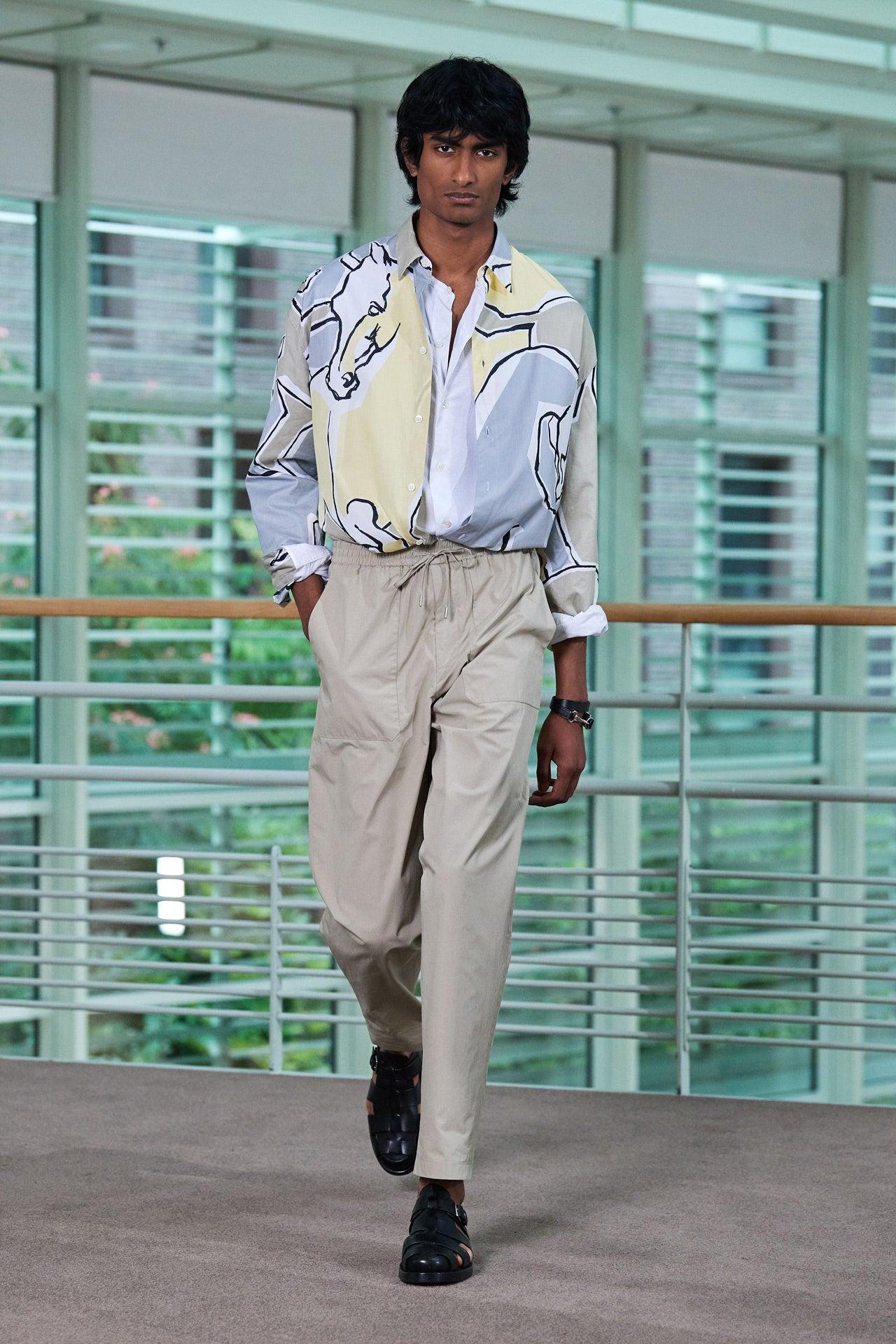 Hermès Spring-Summer 2021 Autor: Filippo Fior / Courtesy of Hermès