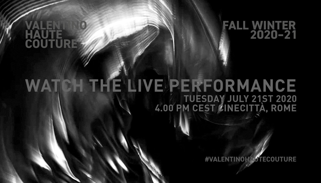 Živě z Říma: Valentino Haute Couture podzim-zima 2020/2021