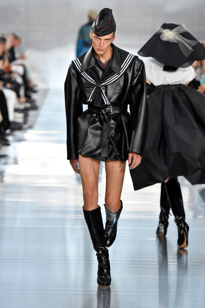 Leon Dame, Maison Margiela Ready to Wear Spring/Summer 2020, Paris Fashion Week, 2019 Autor: Victor VIRGILE/Gamma-Rapho via Getty Images