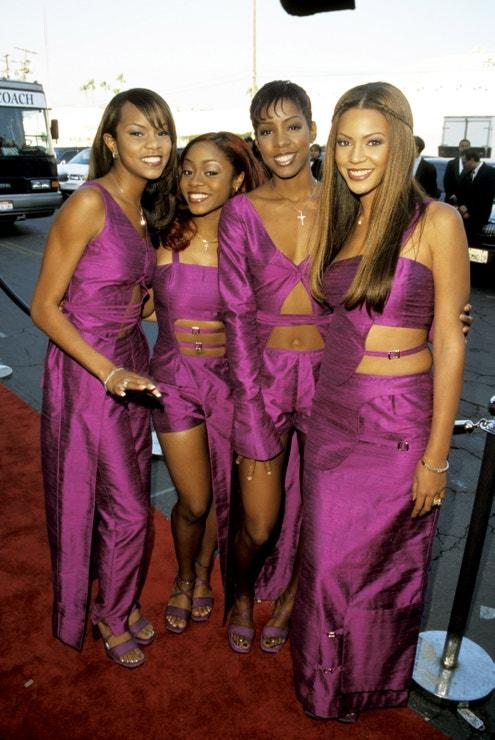 Na předávání hudebních cen The 13th Annual Soul Train, březen 1999