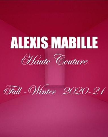 Alexis Mabille Haute Couture podzim-zima 2020/2021