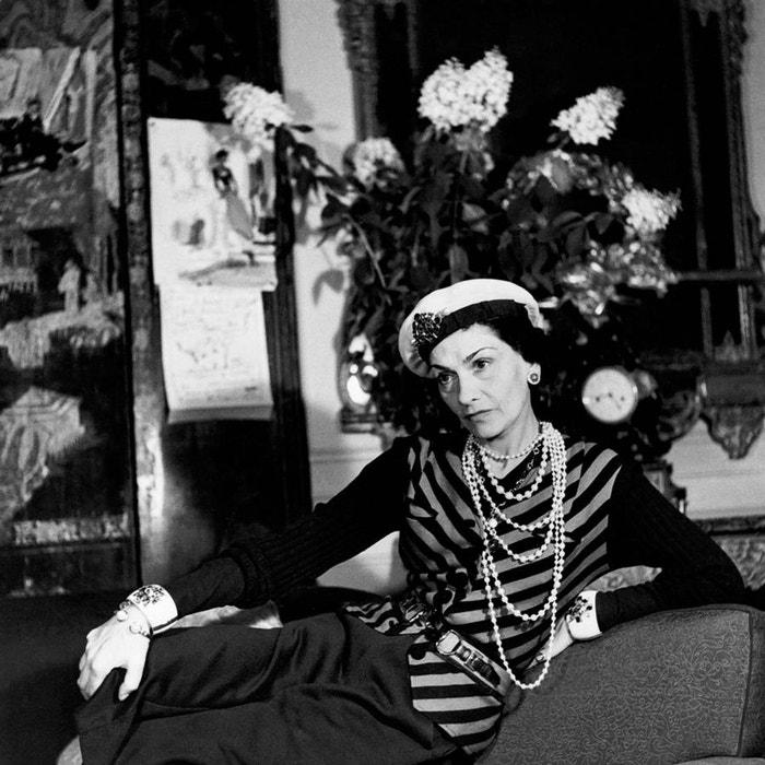 Coco Chanel v hotelu Ritz v Paříži, 1938 Autor: Getty Images