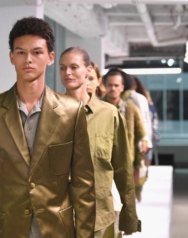 Sies Marjan debutuje na pánském fashion weeku