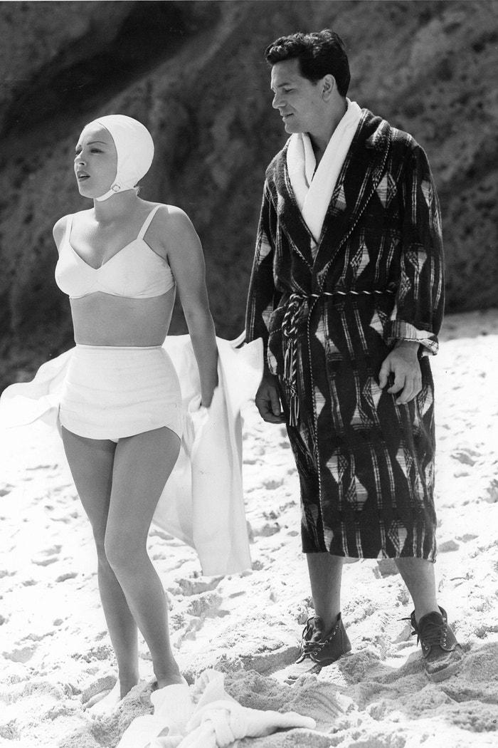 Lana Turner a John Garfield při natáčení filmu Pošťák vždycky zvoní dvakrát, 1946 Autor: Metro-Goldwyn-Mayer/Getty Images