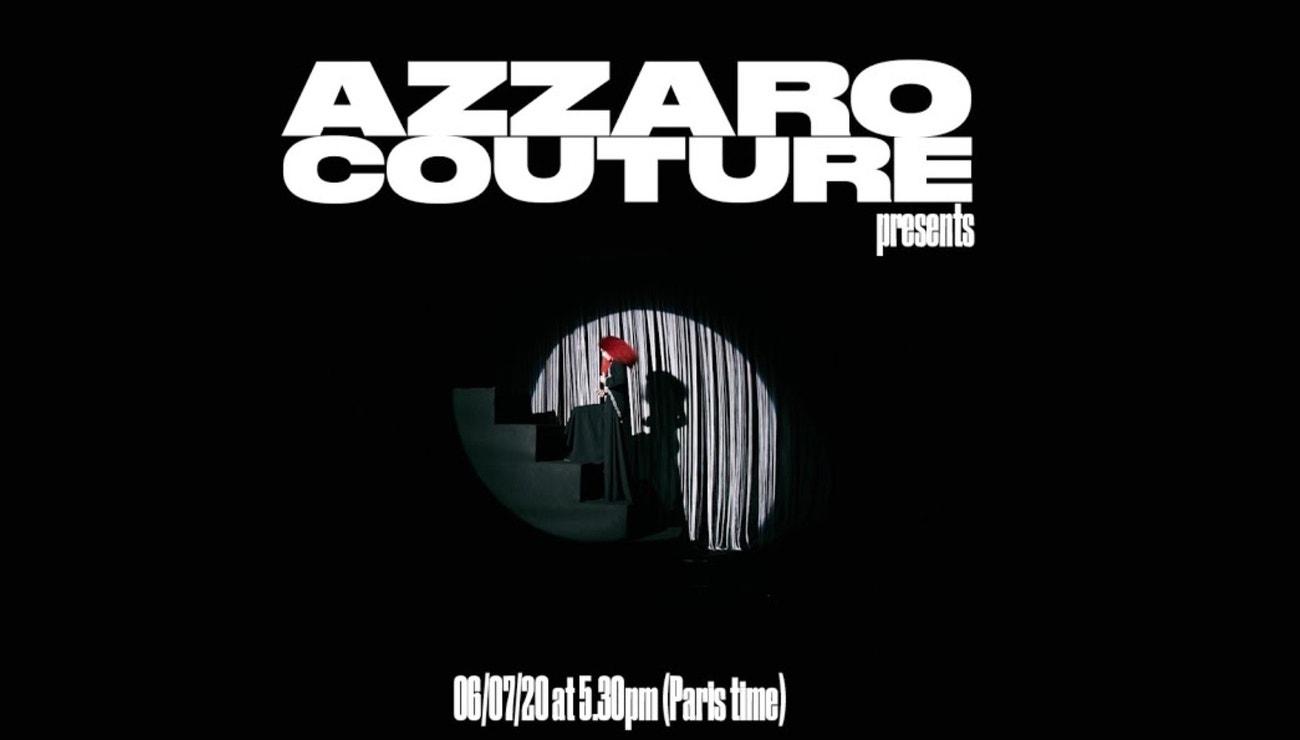 Olivier Theyskens uvádí první haute couture pro Azzaro
