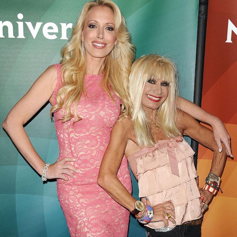 Lulu Johnson se svou matkou Betsey