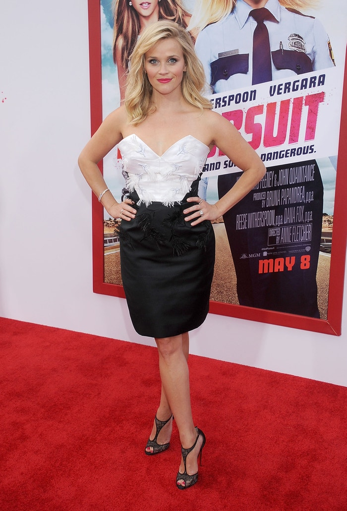 Reese Witherspoon in Prabal Gurung at the Los Angeles premiere of Hot Pursuit in Hollywood on April 30, 2015. Autor: Getty Images