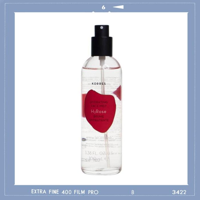 Hydratační pleťová mlha H2O Rose, KORRES, prodává Profimed, 649 Kč