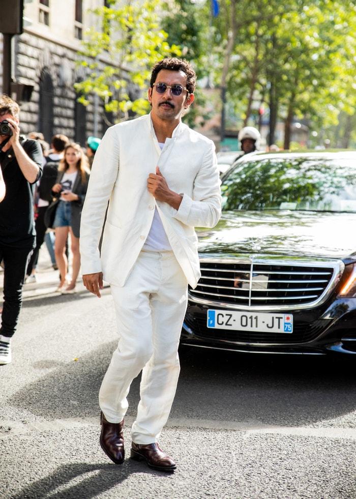 Haider Ackermann cestou na přehlídku Dior Men