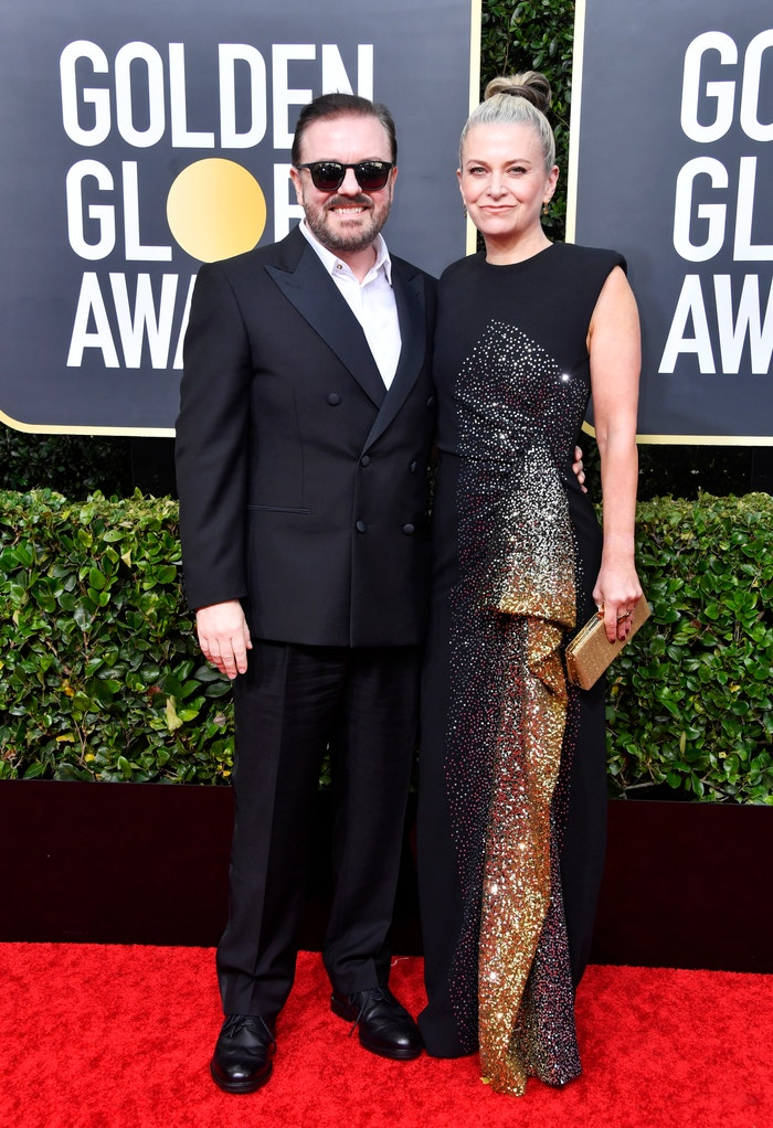 Ricky Gervais a Jane Fallon Autor: Getty Images