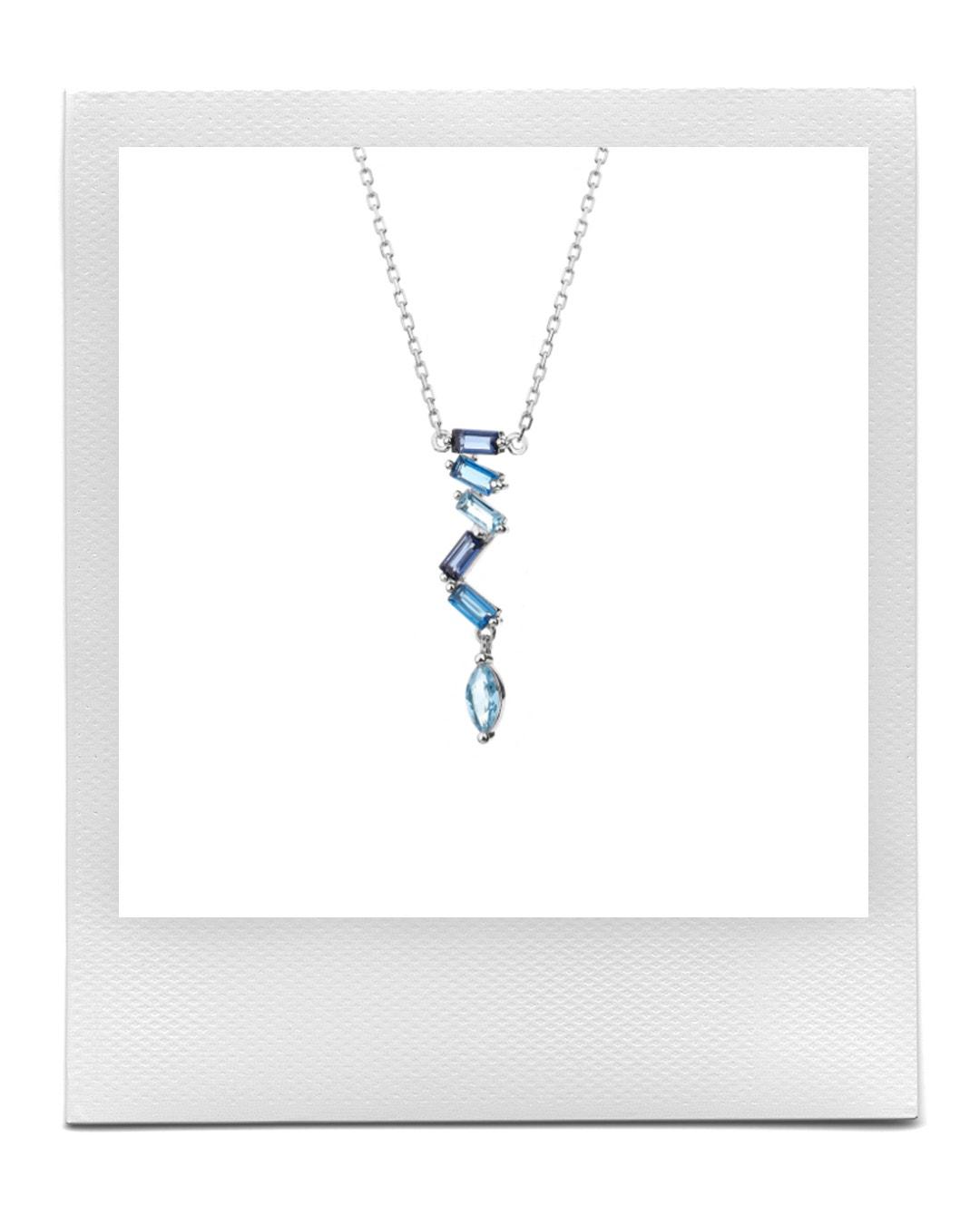 Stříbrný náhrdelník se zirkony, Apart  prodává Apart, 1 279 Kč