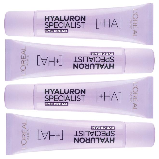 Oční krém Hyaluron Specialist +HA, L'ORÉAL PARIS, 249 Kč