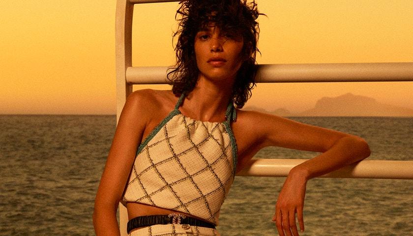 Z Capri na on-line. Digitální přehlídka Chanel Cruise 2021