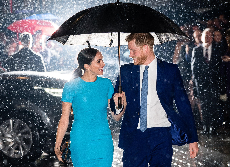 Princ Harry a vévodkyně Meghan, 5. března 2020 v Londýně Autor: Neil Mockford / Ricky Vigil M/GC Images