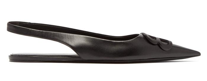 Černé sandálky BB, Balenciaga, prodává Matchesfashion, 785 €