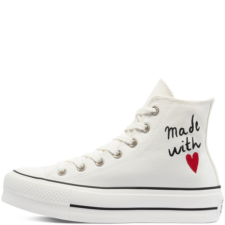 Chuck Taylor All Star Platform, Converse, kolekce Valentine's Day bude k dostání u vybraných prodejců, 2390 Kč