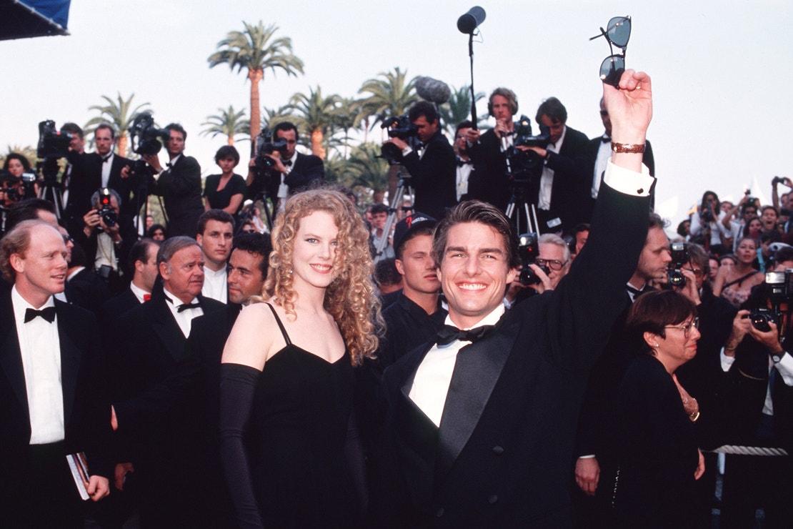 Nicole Kidman a Tom Cruise na festivalu v Cannes, 1992