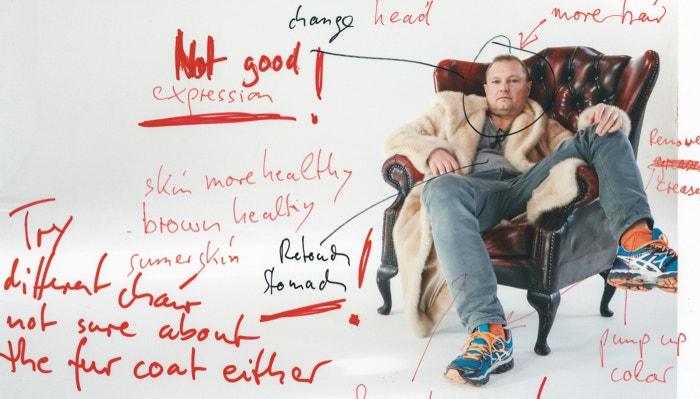 Autor: Self-portrait for Business of Fashion, London, 2015, Juergen Teller.