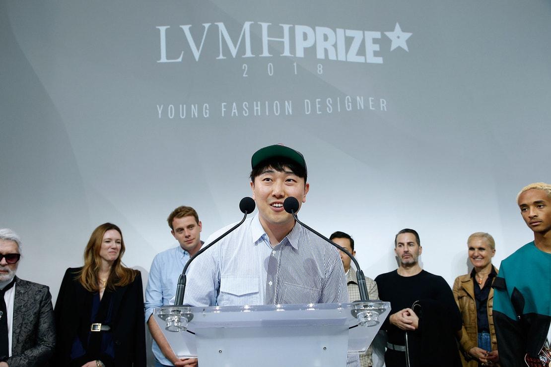 Rok Hwang získává LVMH Special Prize 2018