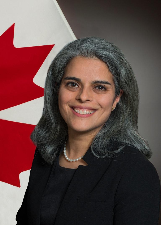 Ayesha Rekhi, velvyslankyně Kanady