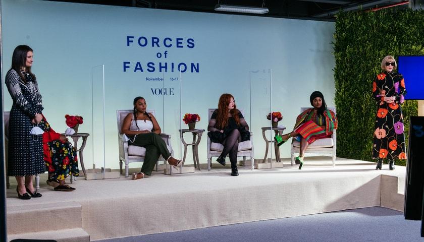 6 nejlepších okamžiků z digitálního summitu Vogue Forces of Fashion