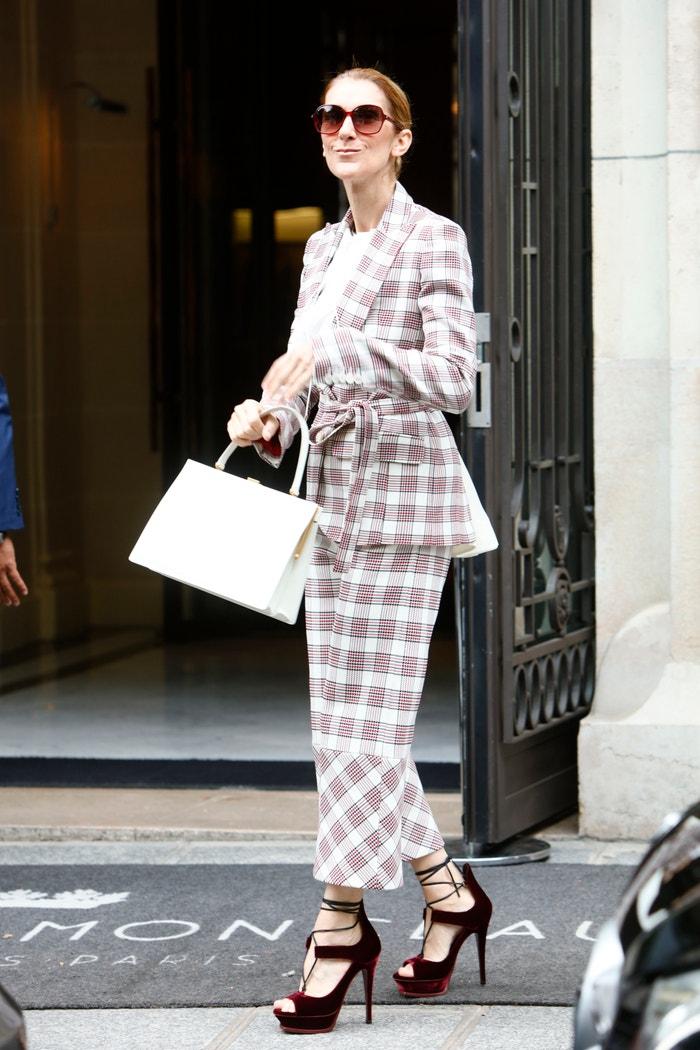 Céline Dion v modelu Antonio Berardi Autor: NurPhoto (Getty Images)