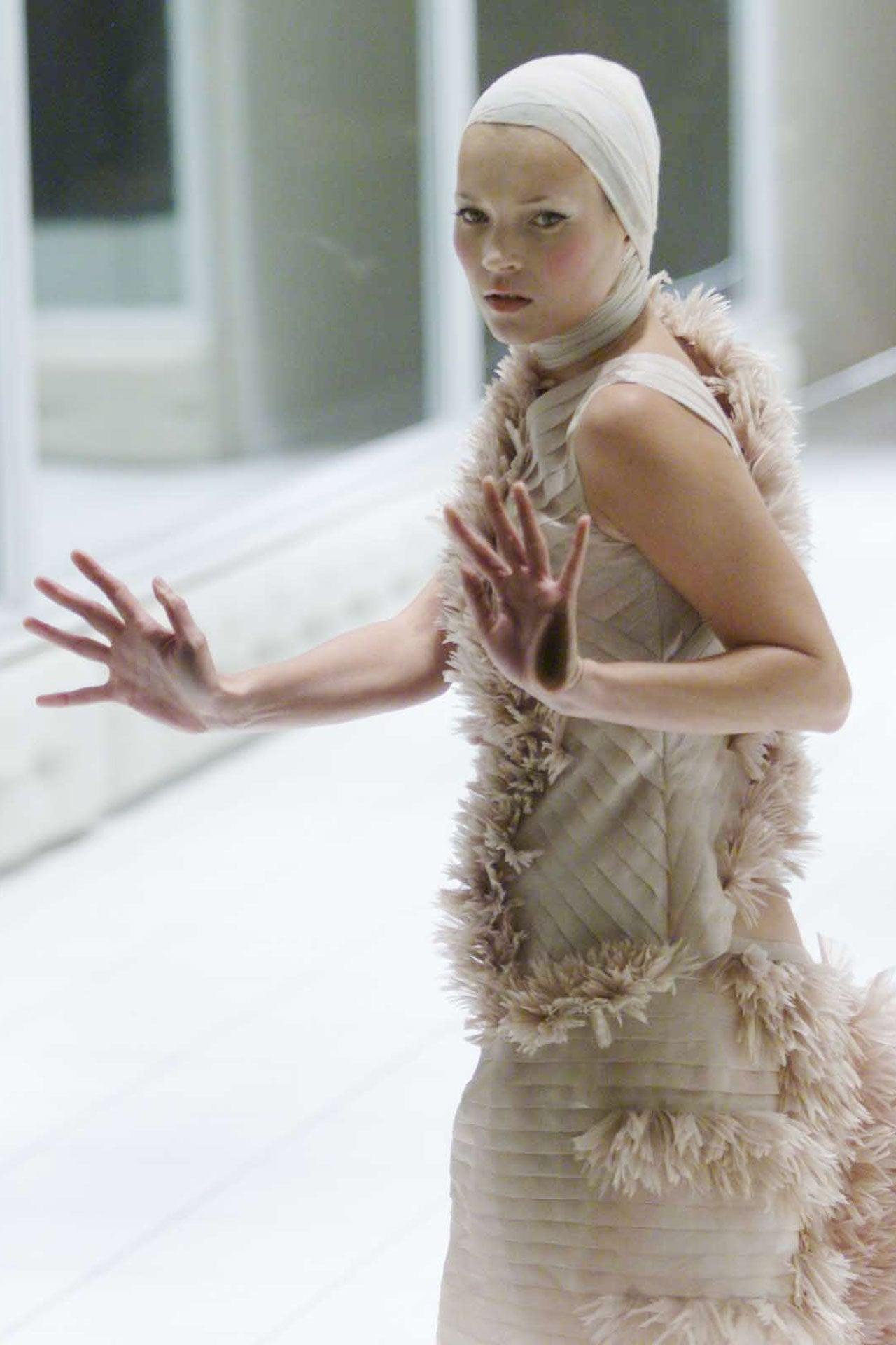 Kate Moss, London Fashion Week, září 2000 Autor: Cavan Pawson/Evening Standard/REX/Shutterstock