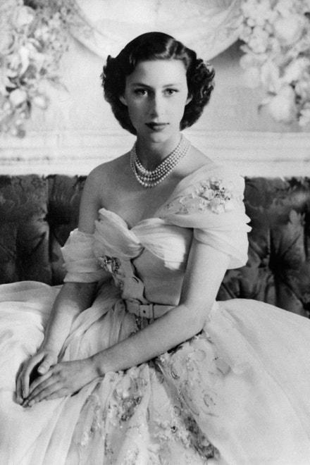 Princezna Margaret na portrétu pořízeném ke 21. narozeninám, 1951