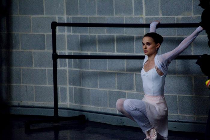Natalie Portman ve filmu Černá labuť (Black Swan, 2010).
