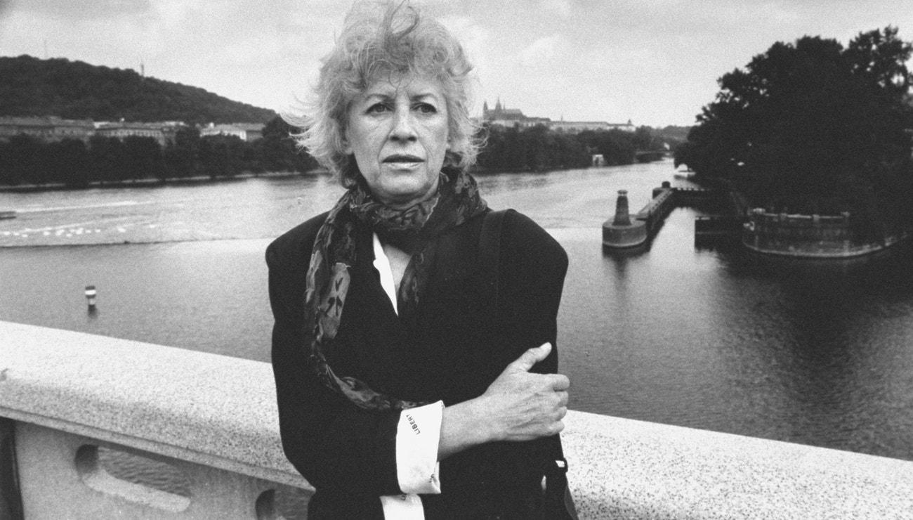Olga Havlová na vzácných fotografiích z léta 1990