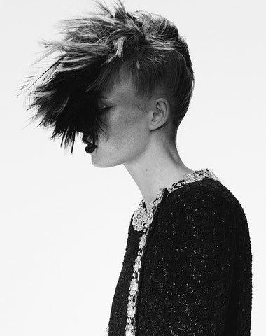 Chanel Haute Couture: Trochu punk, trochu princezna a hodně Karl